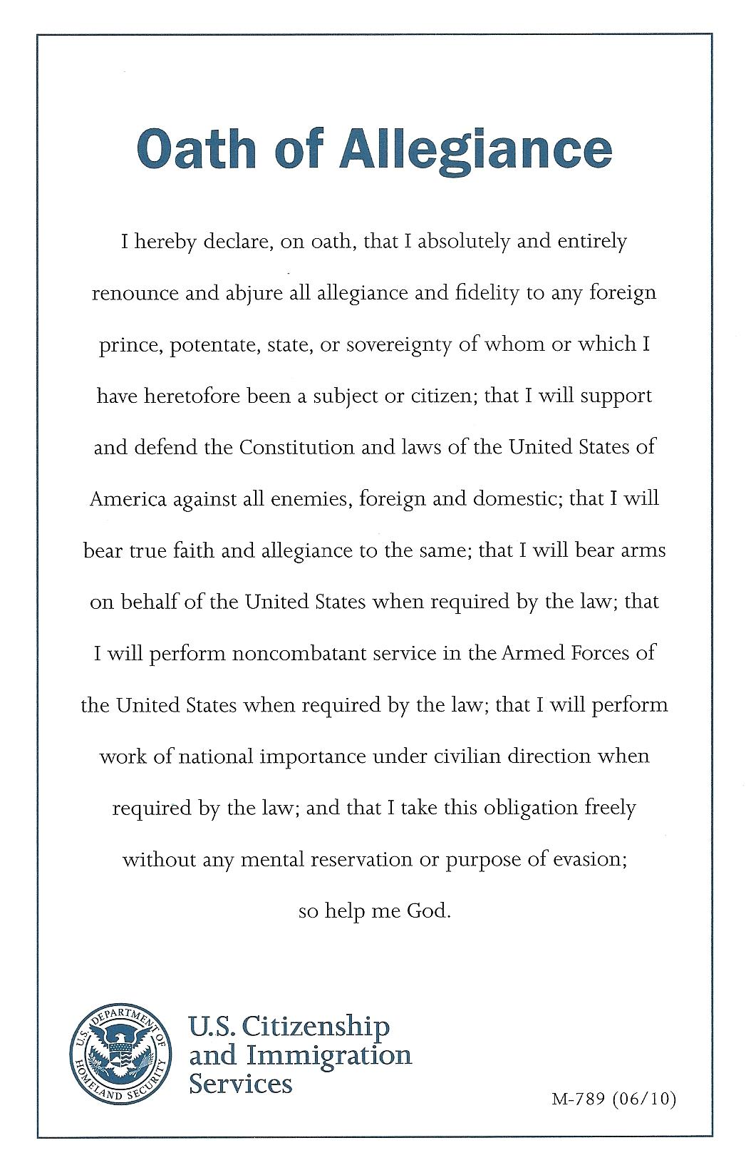 Oath of Allegiance0001