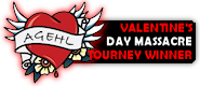 NHL VALENTINES BADGE