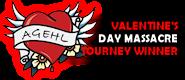 NHL VALENTINES BADGE